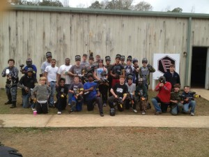 Corporate Paintball Team Building